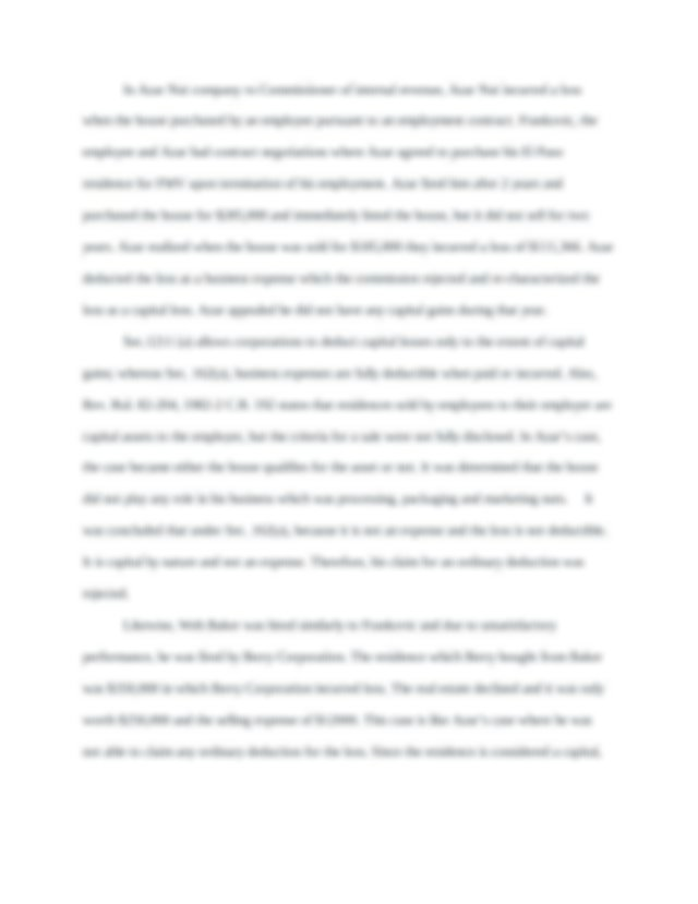 Chapter 5 Tax Research Problem.docx - Chapter 5 Tax ...