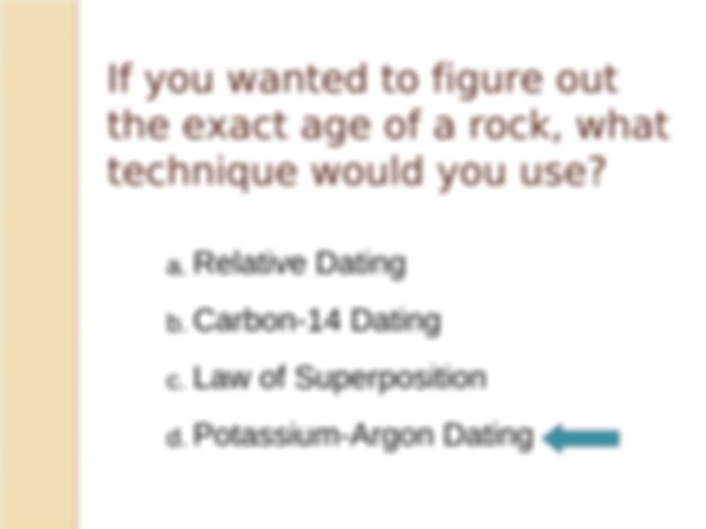 FossilDating - Fossil Dating HOW DO WE KNOW THE AGE OF