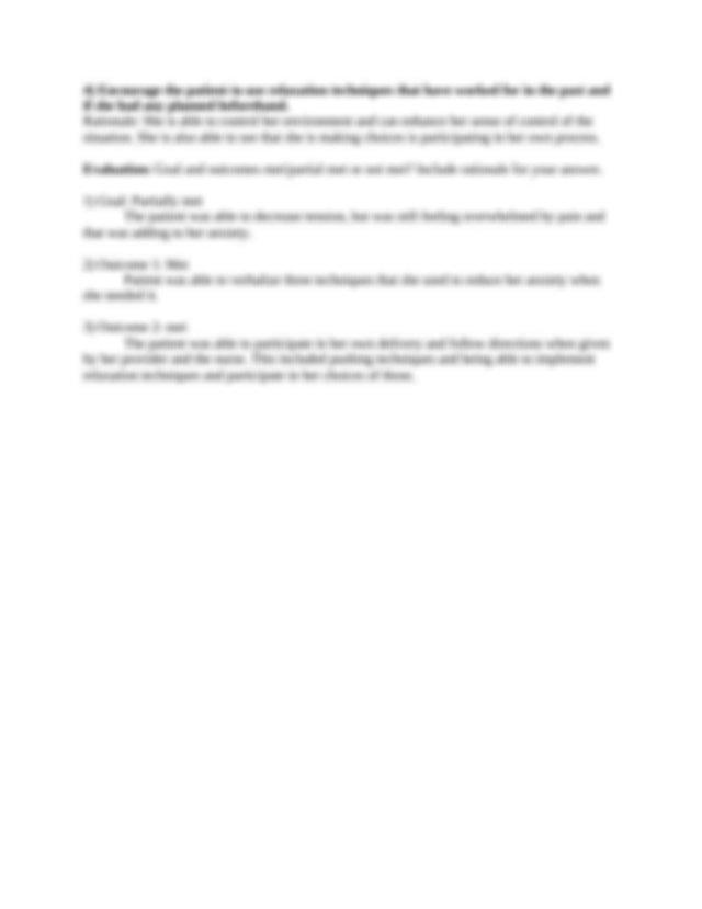 Nursing Care Plan.docx - Nursing Care Plan Dx Anxiety r\/t ...