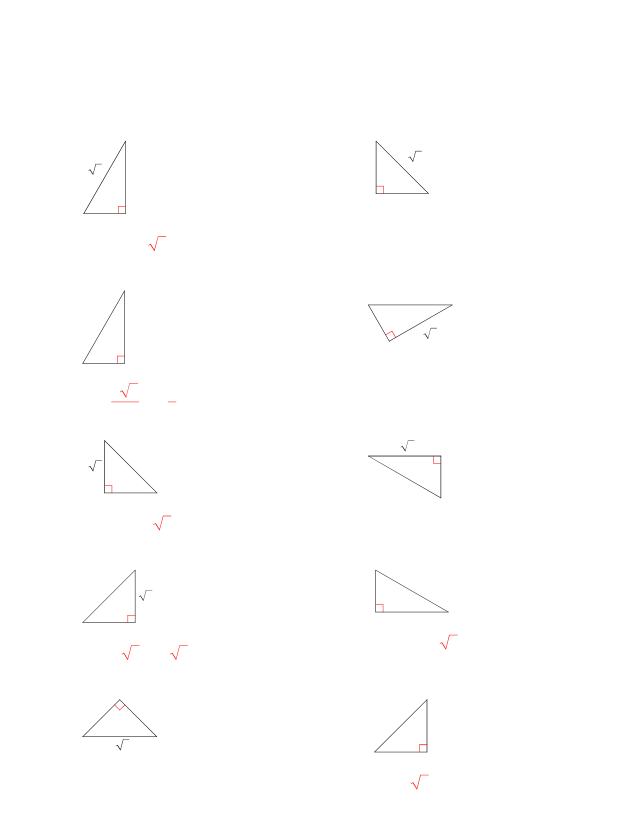 Geometry_-_Chapter_9.2_Special_Right_Triangles_Worksheet ...