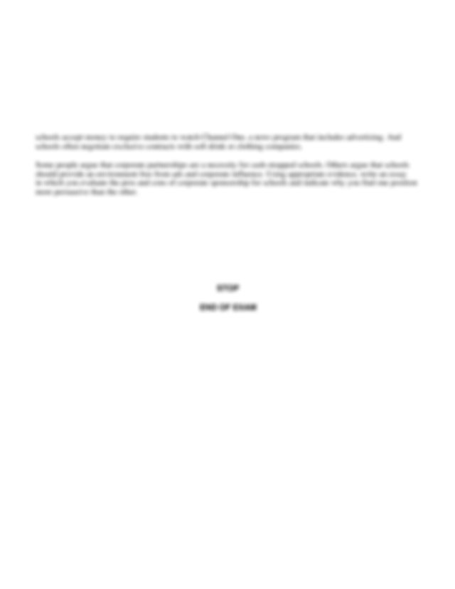 Ncea level 1 english creative writing exemplars