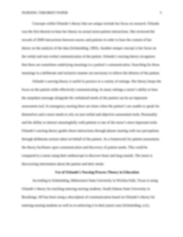Proper outline for research paper