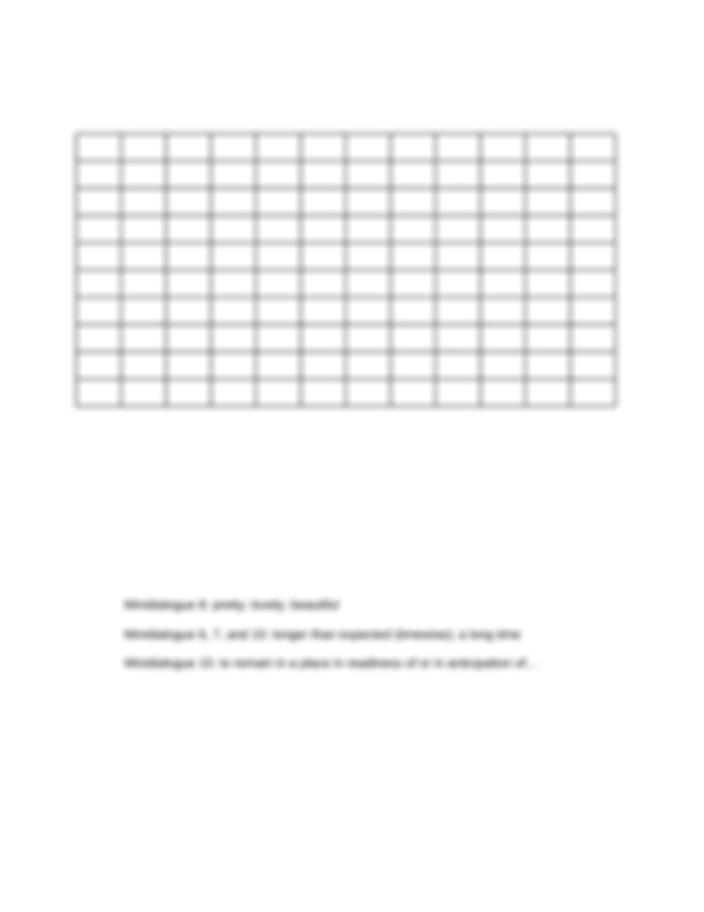 ASL Unit 3 - Unit 3 Answer Key Crossword Puzzle p 140 P L ...