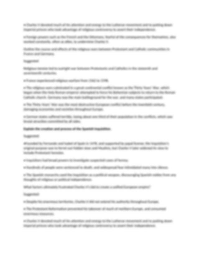 study guide.docx - Hist 113 \u2013 Unit 1 Discuss key ...