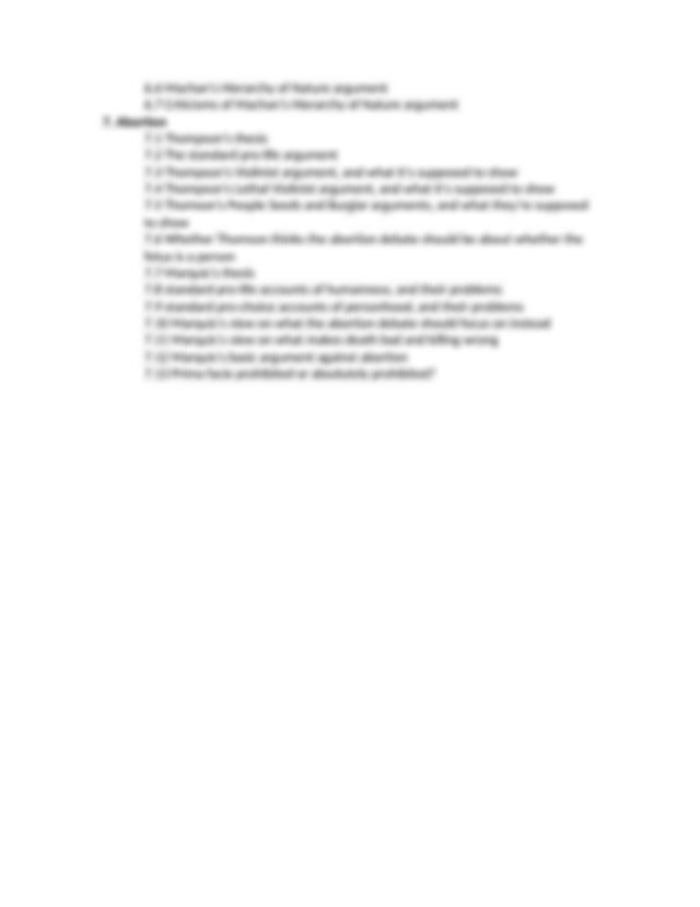 PHIL 103 Online Final Exam Study Guide-2 - PHIL 103 Final ...