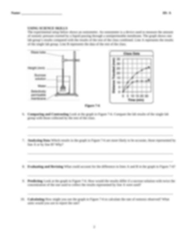 Transport_in_cells_worksheet.pdf - Name Class Date ID A ...