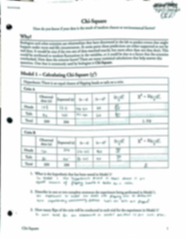 "Chi-Square POGIL.pdf - 7""7 V.7 Va W Chi-Square 0 How do ..."