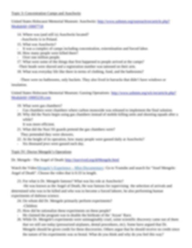 Night Webquest.docx - Night Webquest Name Answer questions ...