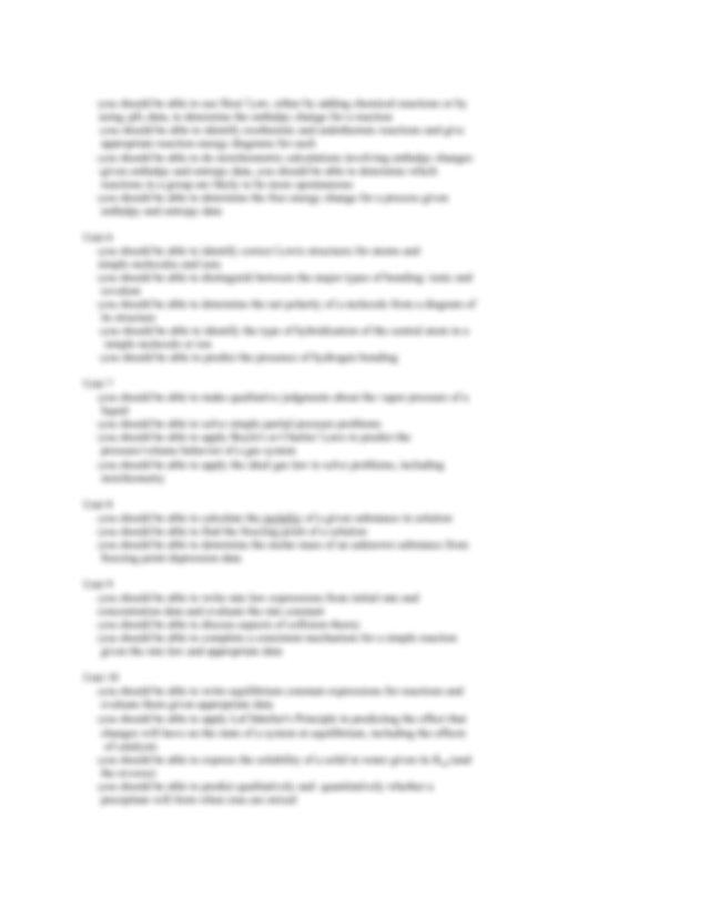 sem2exam - HONORS CHEMISTRY HARVARD-WESTLAKE SECOND ...