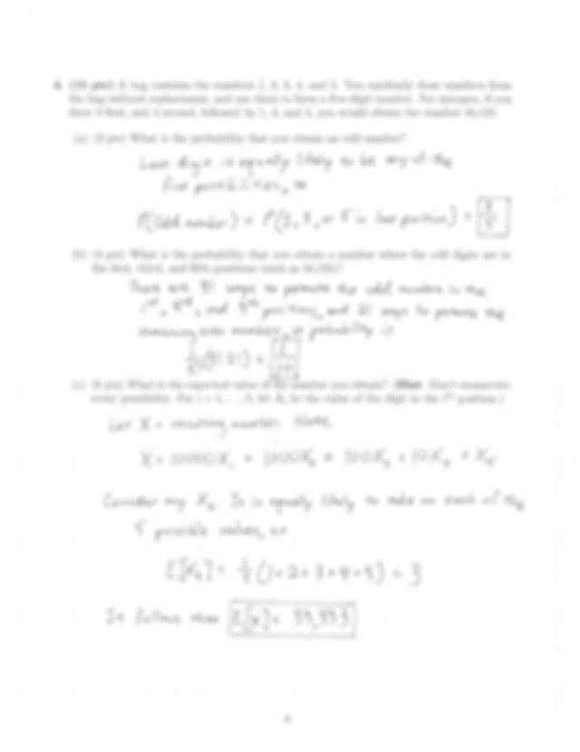 Sample Exam Sol Pdf