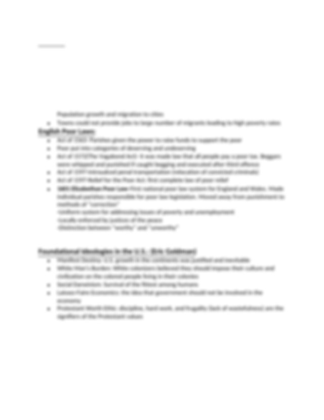 Social Work Exam 1 Study Guide Docx