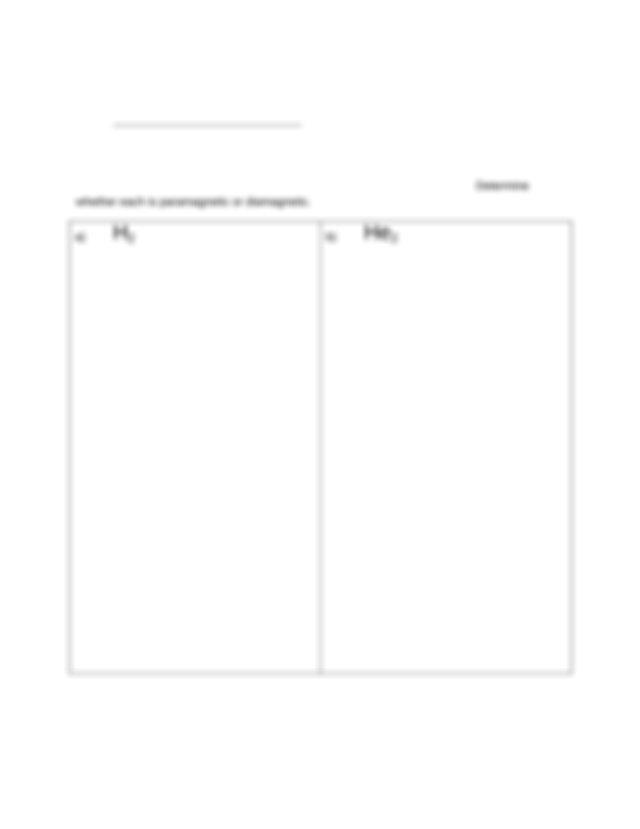 Chem1211 Molecular Orbital Diagram Worksheet  2