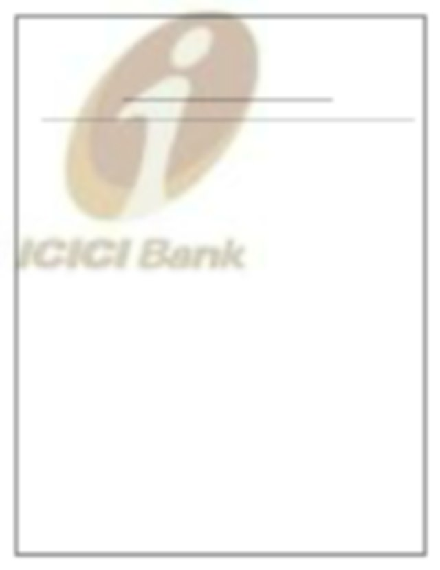 icici Pru - SUMMER TRAINING REPORT ON INSURANCE INVESTMENT PLANS IN ICICI BANK Submitted in ...