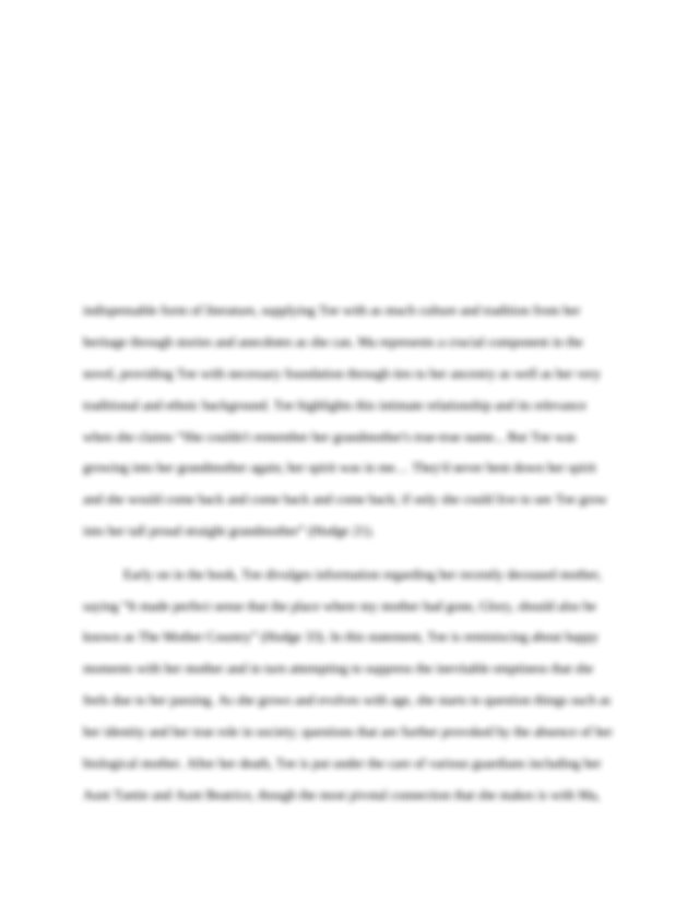Essay about education with author