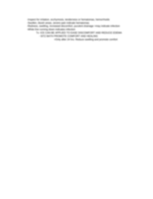OB BUBBLE Assessment .docx - BOGGY FUNDUS A uterus that is ...