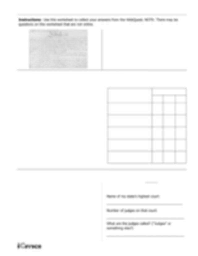 Courts in a Nutshell WQ Companion Worksheet.pdf - WQ ...