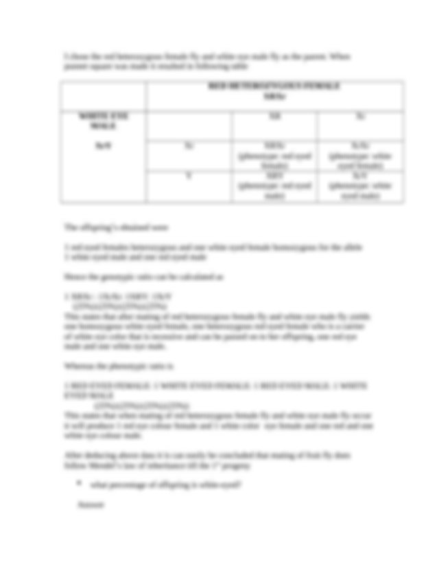 Punnett Squares and Sex-Linked Traits Worksheet.docx ...