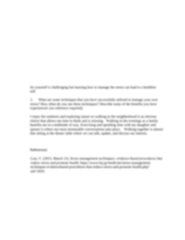 Discussion2.docx - 1 What are some of the benefits of ...