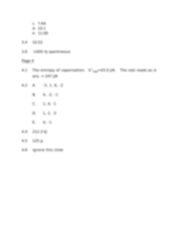 Sample Final Exam Solution on General Chemistry - Answers ...