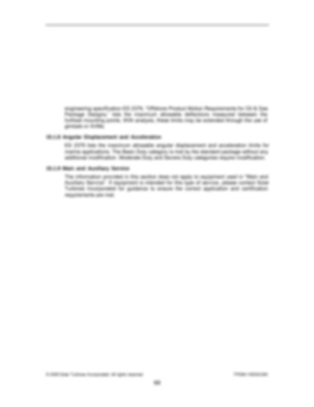 Ingestive Cleaning Solar Gas Turbine Engines Es 9 98 Fuel
