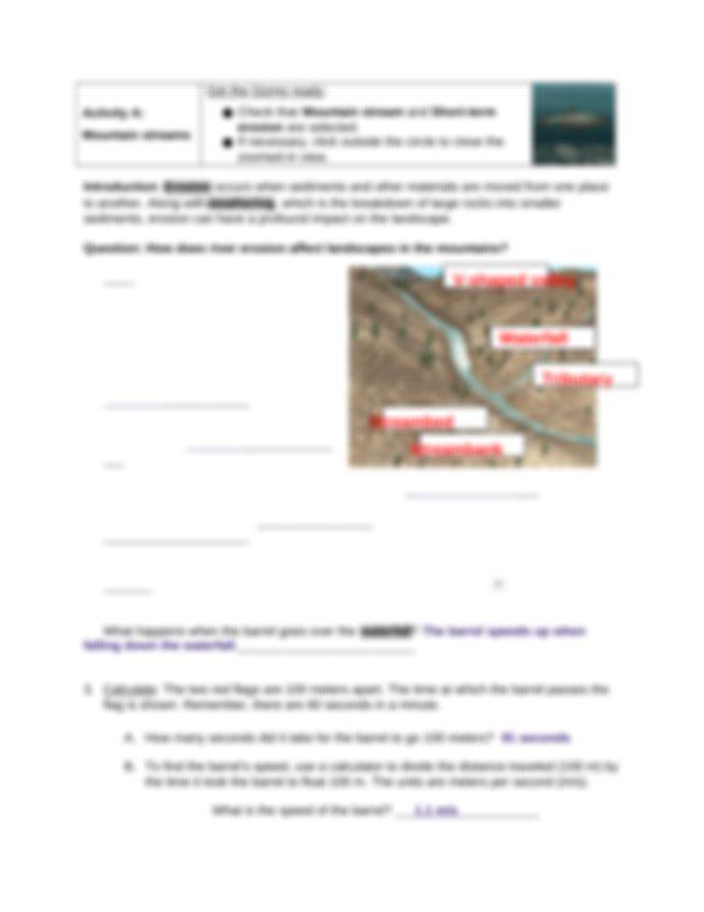 Copy of KWAL 5 - River Erosion GIZMO - G R JerVohn A ...