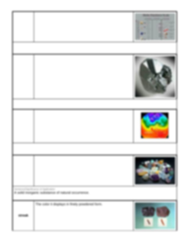 Copy of of Lab Activity - Gizmo: Mineral Identification ...