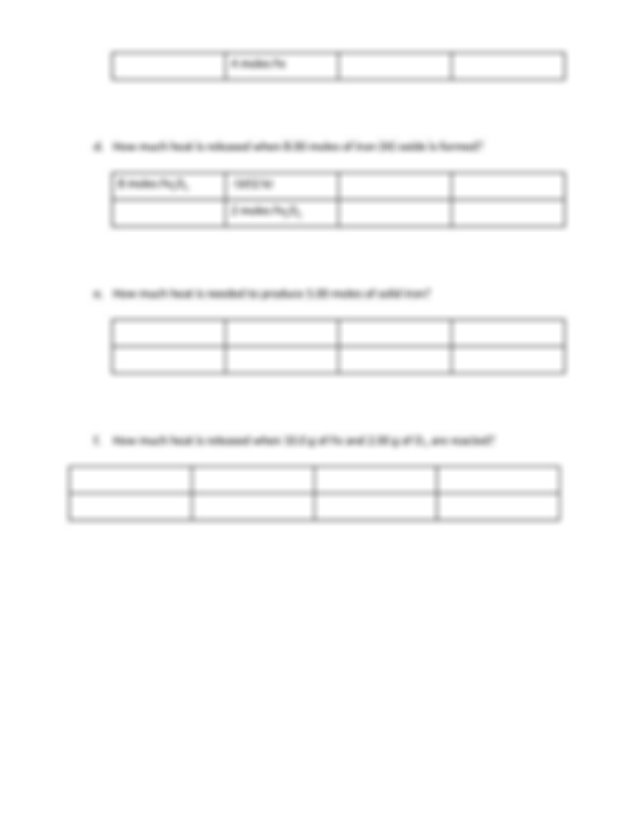 Stoichiometry_meets_Thermochemistry_Worksheet - Name ...