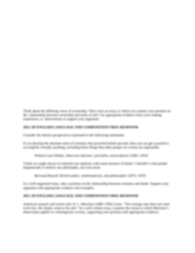 Intro to leadership essay