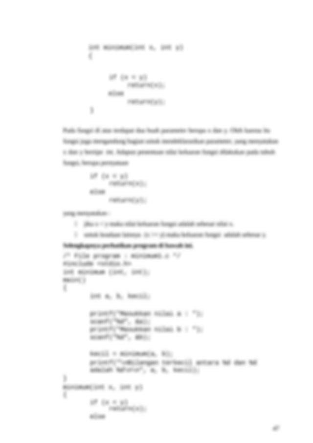 Bentuk umum dari definisi sebuah fungsi adalah sebagai ...