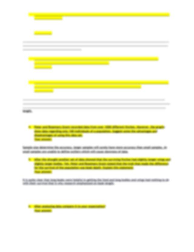 Finches Bio Lab COURSE HERO .pdf - 1 Discuss which ...