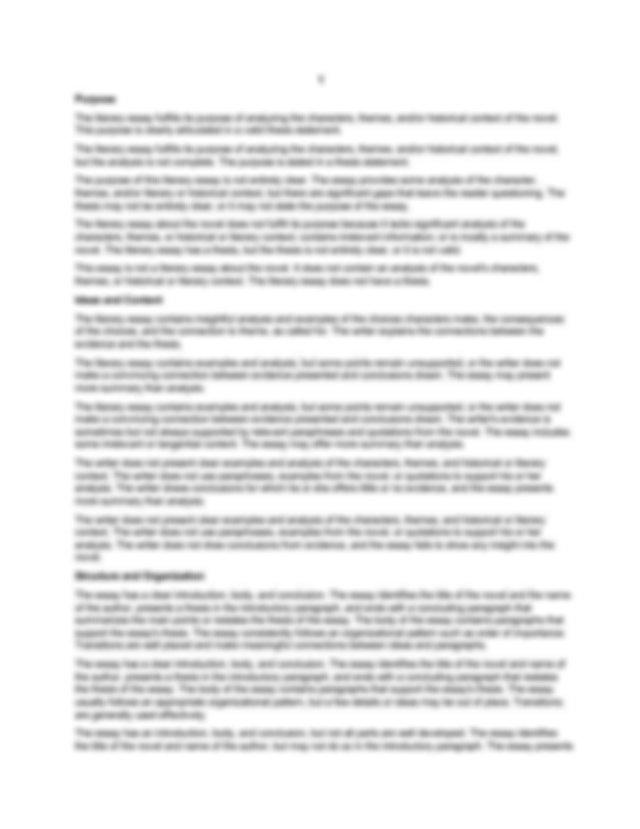 English reflective essay topics