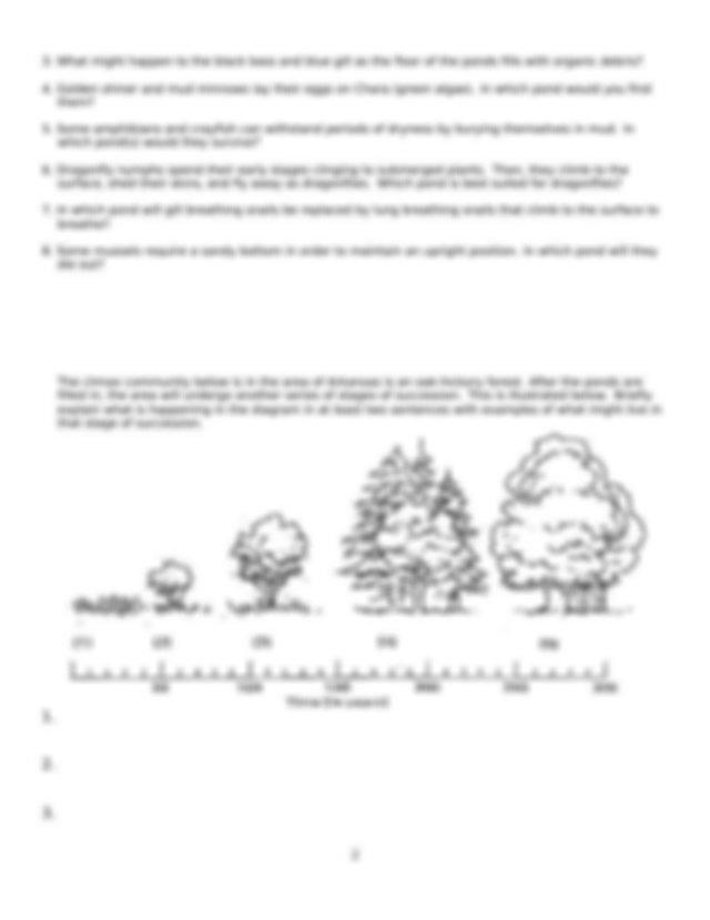 Copy of Pond Ecological Succession Worksheet.docx ...