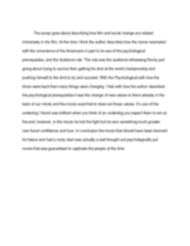 Babylon revisited thesis statement
