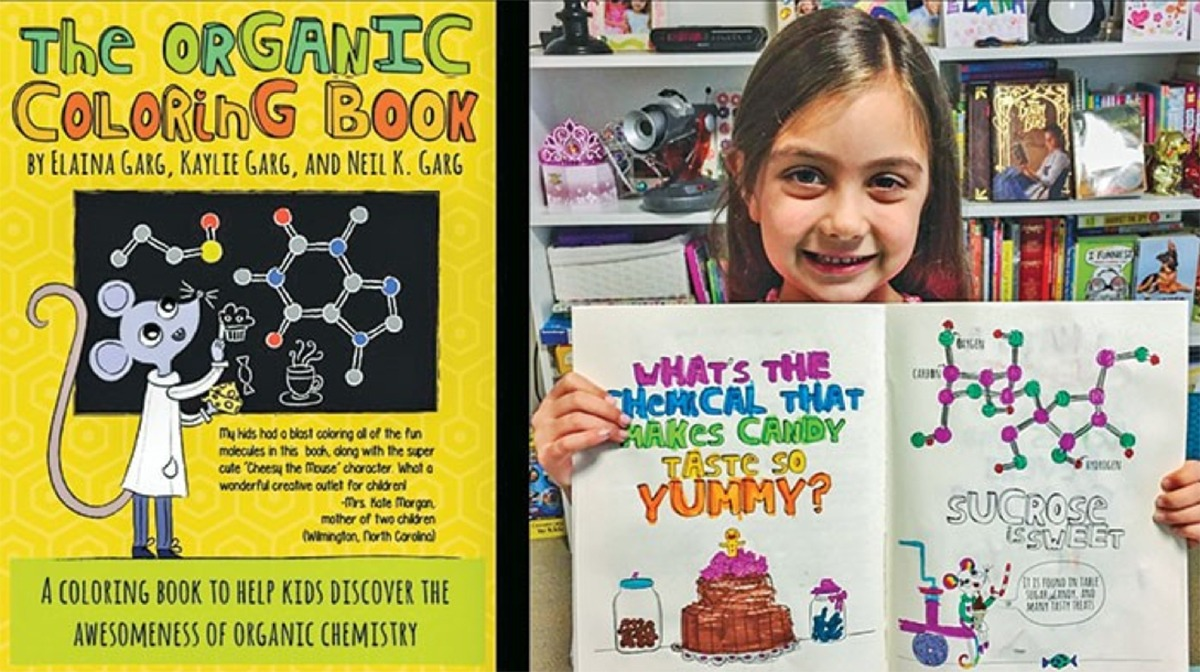 Organic Chemistry Coloring Book