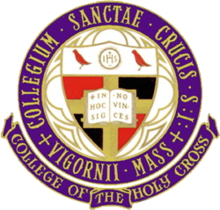 Holy Cross (MA) logo