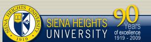 Sienna Heights logo