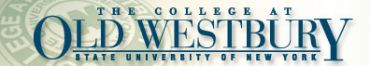 The College at Old Westbury logo