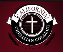 California Christian College logo