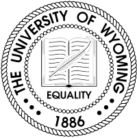 Univeristy of Wyoming- Laramie logo