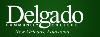 Delgado Community College logo
