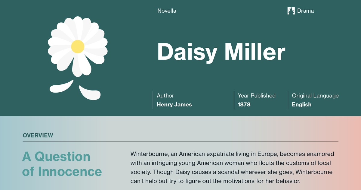daisy miller plot summary course hero