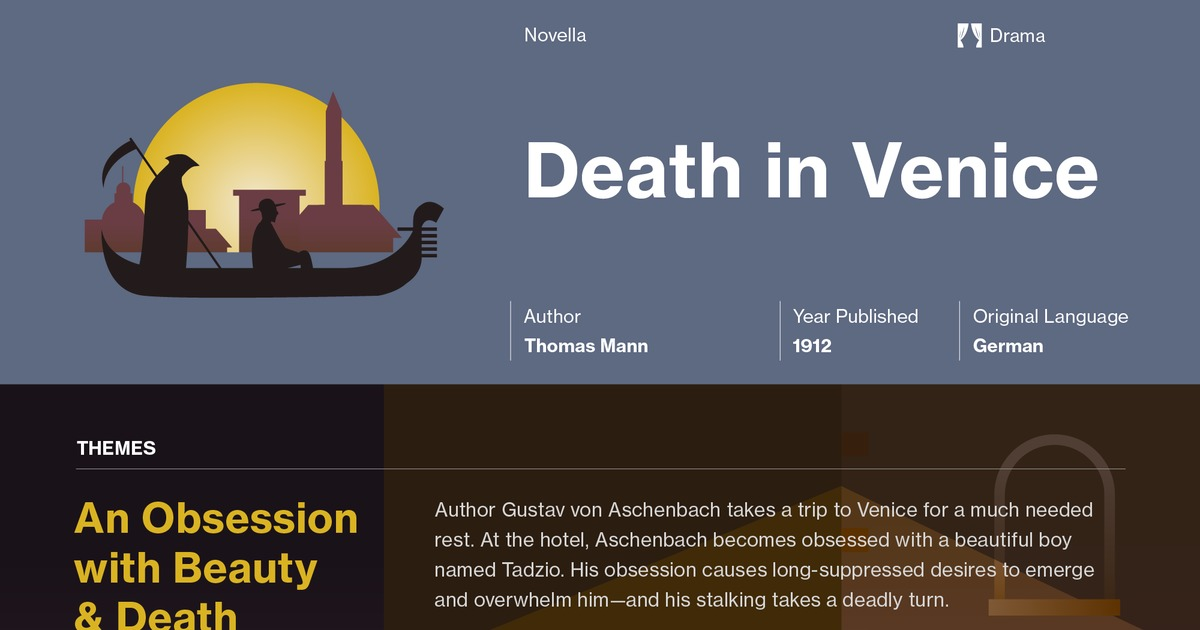 death in venice symbolism essay