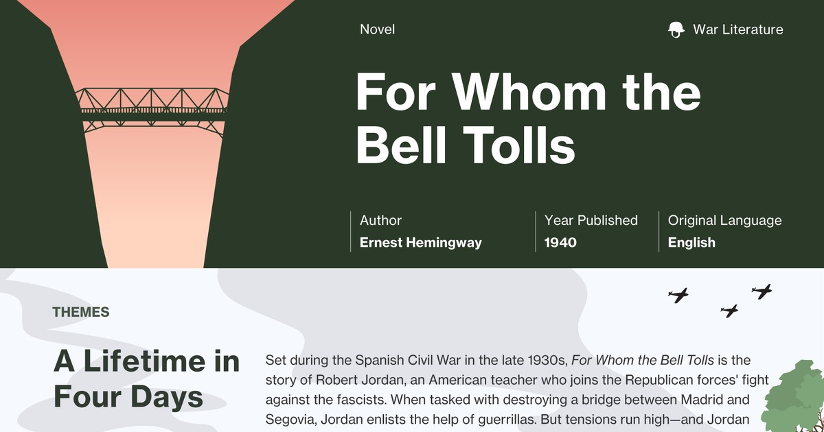 for whom the bell tolls summary