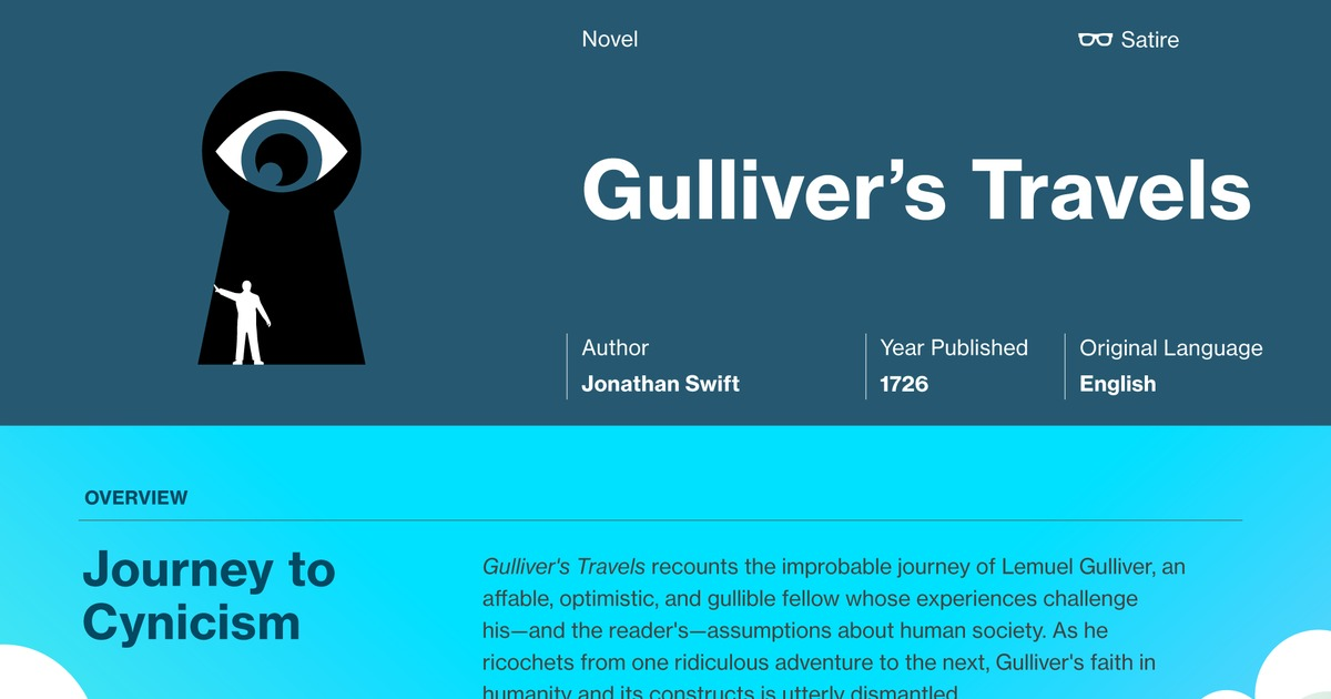 Gullivers Travels Part  Study Guide