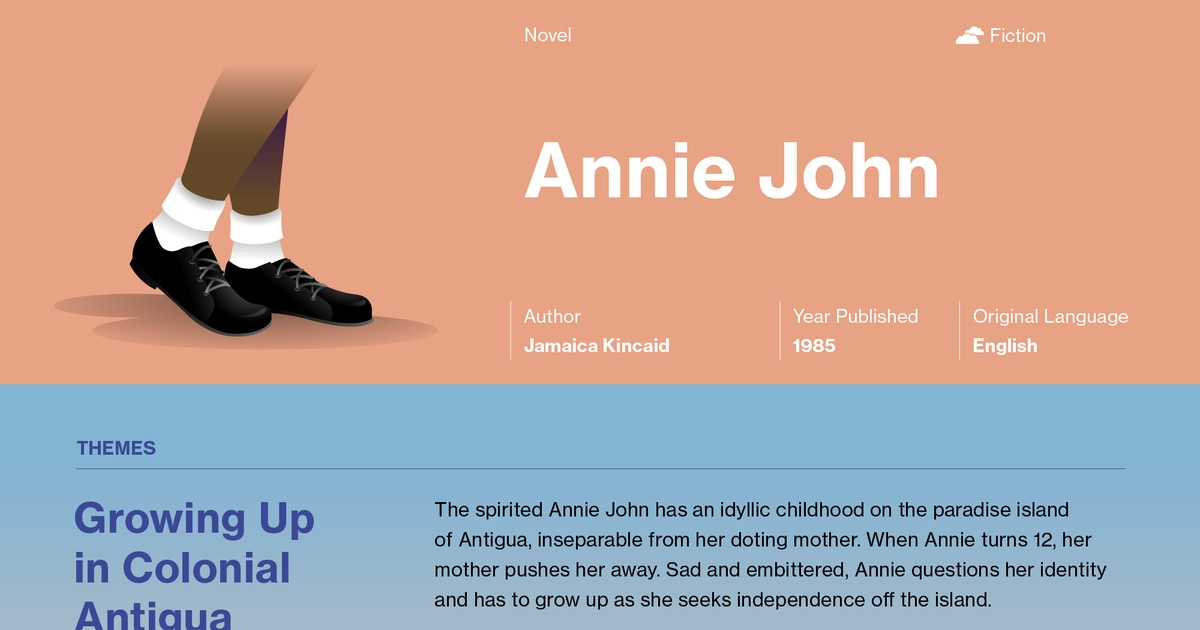 Annie john summary