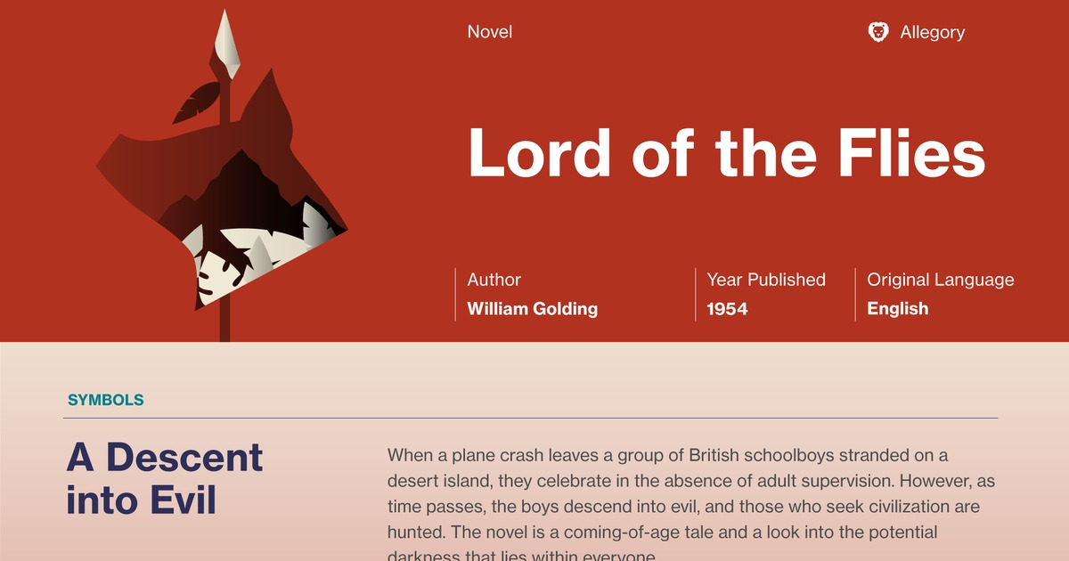 Lord Of The Flies Chapter 8 Summary Course Hero