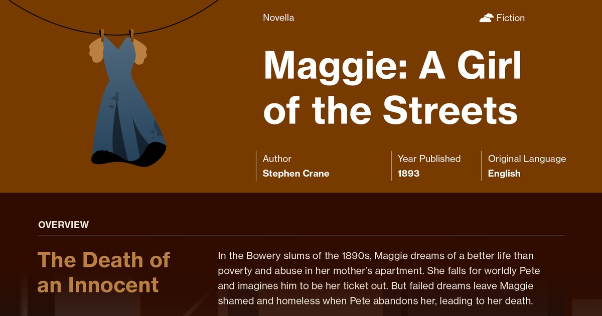 maggie a girl of the streets symbols course hero