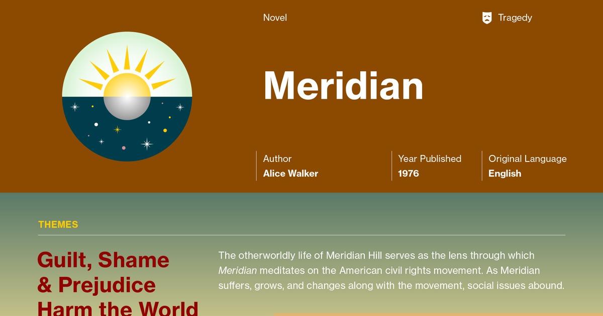 Meridian Plot Summary Course Hero