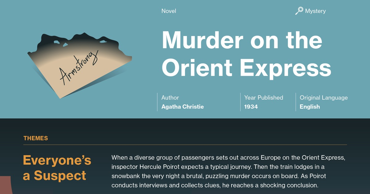 Murder On The Orient Express Quotes Course Hero