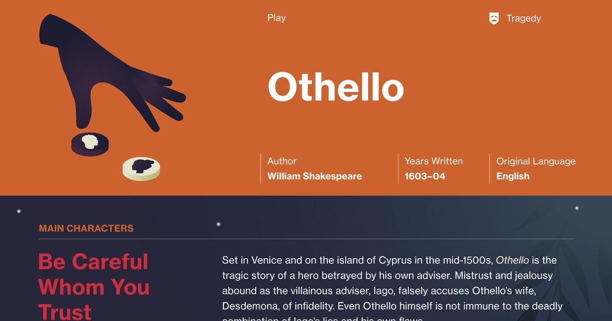 othello act 3 scene 4 text